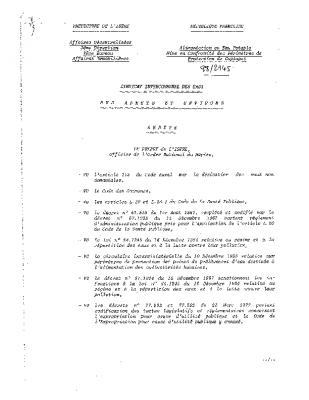 DUP captage Truitière